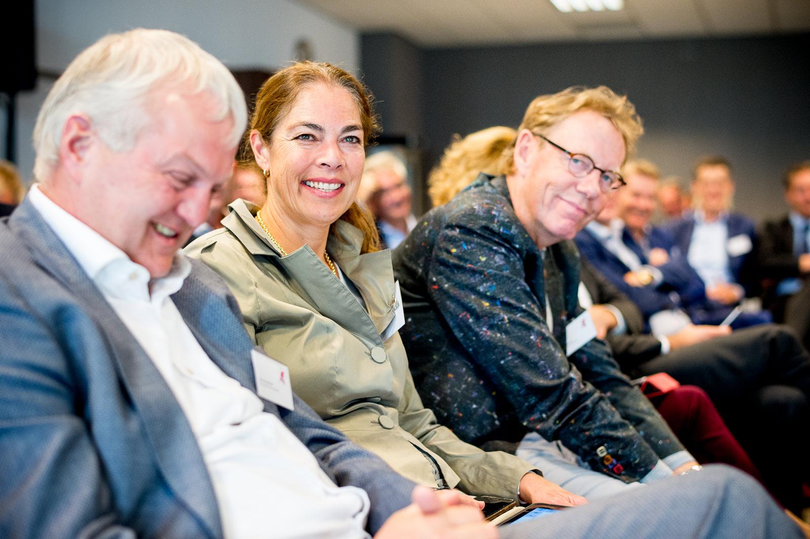 Nico Overdevest, Karin Verdooren en Hans Vedder (vlnr)
